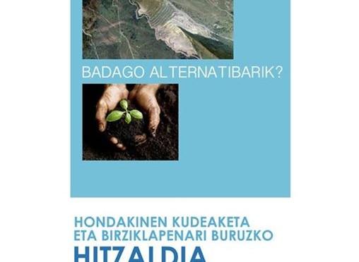 Hitzaldia Lezaman, 22-4-2015 Eguzki